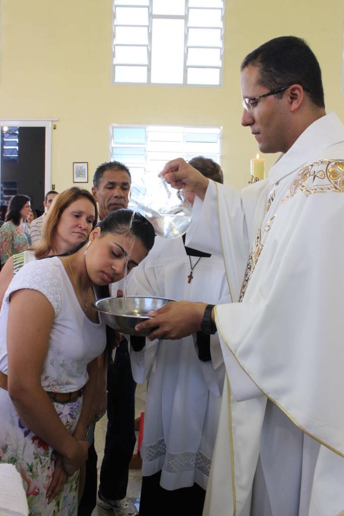 Batismo na Missão Popular