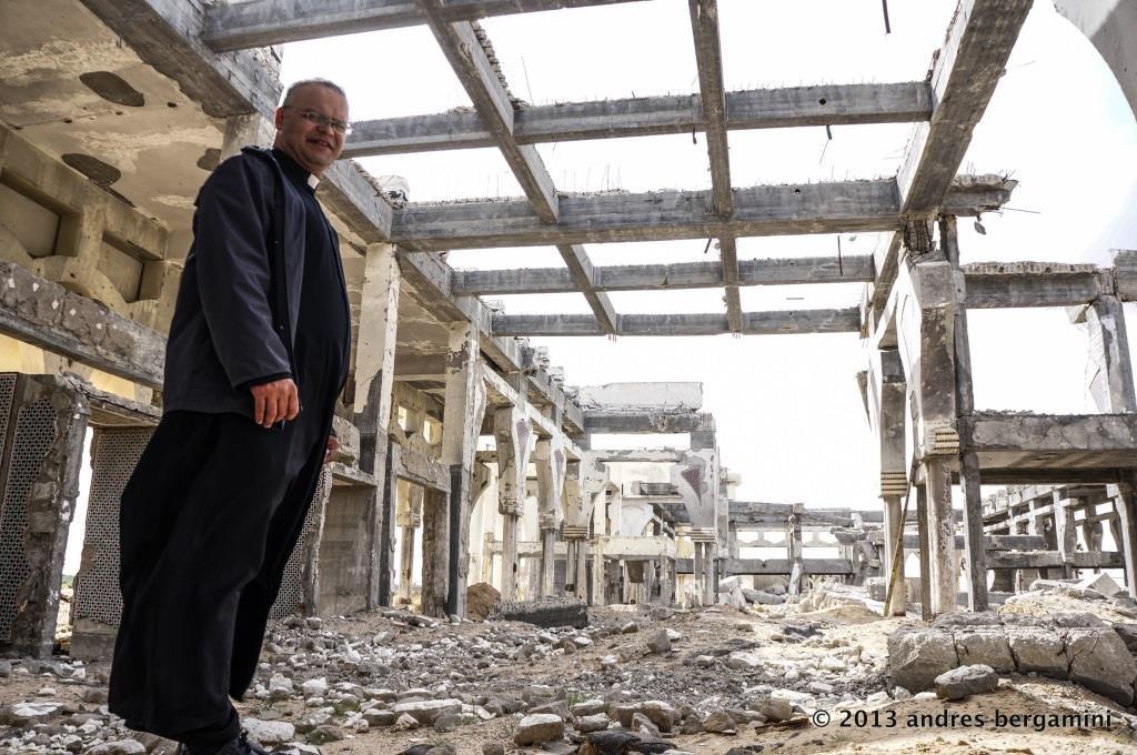 Pe. Mário - Faixa de Gaza